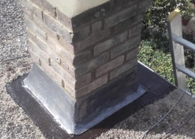 Chimney Repointing in March 2020