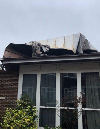 Storm damage February 2020