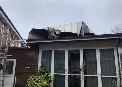 Storm Damage in Storrington February 2020