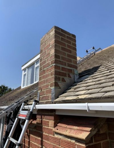 Chimney work April 2020