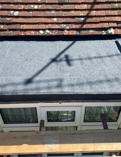 flat roof april 2020