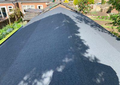 Felt Roof and Guttering in Horsham