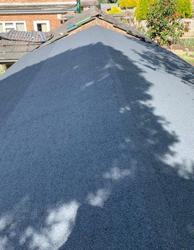 Felt roof may 2020