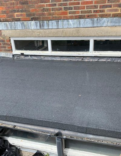 Flat roof May 2020